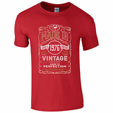 Made in 1975 T-Shirt - SP 40th Year Birthday Present Vintage Funny Gift Mens Top