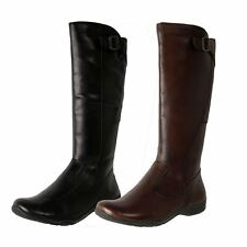 Brand New Planet Shoes Women's Leather Comfort Knee High Zip Boot Spire-II
