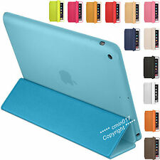 PU Smart Cover Magnetic Folding Stand Case For Apple iPad Air 4 3 2 1 Mini New