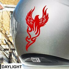 Hyper Reflective Rising Phoenix Safety Decal For Your Motorcycle or Helmet #788R
