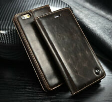 For iPhone 5/5S &6& 6 Plus Leather Wallet Card Holder Flip Stand Case Cover Hot!