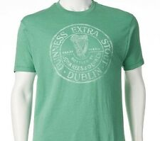 Guinness Beer Green Brewery St. James Dublin Ireland Vintage Mens Tshirt NEW