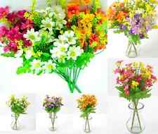 Colorful Artificial Fake Silk Daisy Flower Bouquet Home Party Decoration1 Bunch