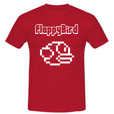 FLAPPY BIRDS GAMING APP INSPIRED T SHIRT TEE