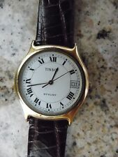 Auth Women's Vintage TISSOT Stylist Slim Watch 30M Water Resistant!