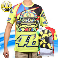 T-Shirt Sole luna 46 VALENTINO ROSSI dainese monster M1 Moto GP Official Team