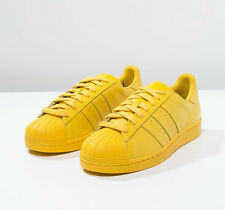 Adidas Superstar Supercolor ~ tribe Yellow ~ limited & Rare   must have