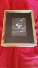 BREAKING BAD, COMPLETE BOX SET, AUTOGRAPHED BY BRYAN CRANSTON IN DISPLAY CASE