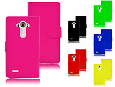Magnetic Wallet Book Side Flip Leather PU ID Holder Pouch Case Cover For LG G4