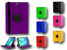 """360° Rotate Premium Leather Stand Case Cover For Samsung Galaxy Tab A T550 9.7"""""""