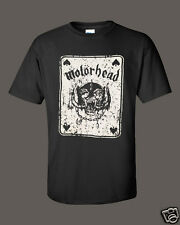 NWT RARE MOTORHEAD ACE OF SPADES COTTON  T-SHIRT PUNK METAL ROCK BIKER