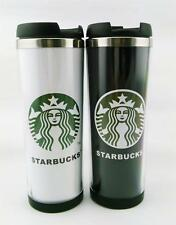1*Cup 14oz Starbucks Double Wall Coffee Mug Tumbler Stainless Steel Travel Cups