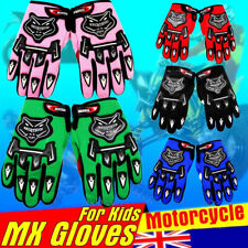 Youth Kids MX Motocross Off-Road Racing ATV Dirt Pit Trail Bike Gloves Cycling M