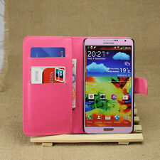 Magnet Leather Kick stand Wallet Card Flip Case For Samsung Galaxy Note 3 N9000
