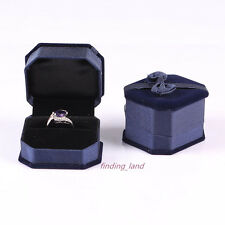 Wholesale Premium Velvet Jewellery Gift Boxes Necklace Bracelet Ring Earring Set