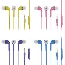 STEREO Headset Earphone Headphone Handfree Mic For SAMSUNG Galaxy S4 S3 Note 2
