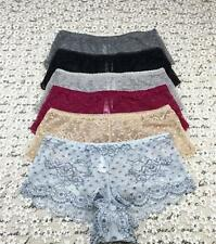 #UA56 New Women's Maidenform Lace Sexy Boyshort Comfy Panties Size 5/S 6/M 7/L