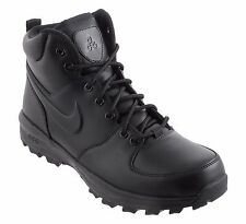 Men's Nike ACG Manoa Leather Boots BlackBlack Winter Casual 454350-003