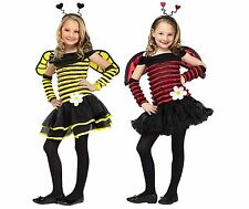 NWT LOVELY LADYBUG OR BUSY BEE GIRLS HALLOWEEN COSTUME - BUMBLE HONEY BEE 3T 4T