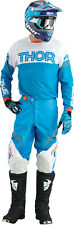 THOR Phase Kit Hyperion BLUE WHITE 2016 Motocross Enduro Pant & Jersey