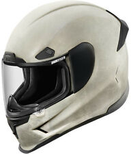ICON AIRFRAME PRO CONSTRUCT WHITE MOTORCYCLE HELMET STREET RIDING DOT ECE NEW