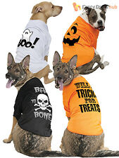 Pet Halloween Fancy Dress Costume Dog Cat T Shirt Gift Party Outfit Clothes Fun