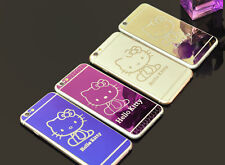 Hello Kitty Tempered Glass Screen Protector for iphone 6Plus front&back+TPU Case