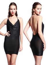 Women Sexy Backless Cocktail Party Evening Stretchy Strapless Bodycon Dress