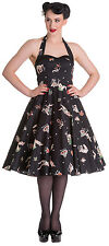 Hell Bunny Lucinda 50's Dress- NWT Sizes XS- XL Rockabilly, Pinup