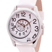 Spiral of Time Watch (White) | Mens Watch | Watches for Women | Unisex Watches
