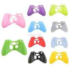 Silicone Skin Grip Protective Cover for Xbox 360 Controller Rubber Case Soft W75