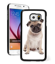 For Samsung Galaxy S7 S4 S5 S6 Edge + Mini Active Hard Case Cover 105 Pug Dog