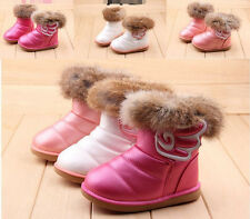 Hot autumn winter children casual shoes baby snow boots girl boots size 21-30