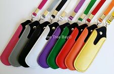 E Cig Lanyard Neck Strap with PU leather pouch SHISHA PEN  EGO T W CIGARETTE