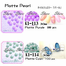 Acrylic Globular Pearl Accessories Decorative DIY Nail Art UV K1