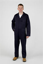 Men's Cotton Rich Work Overalls with Pockets – Wide Range of Sizes and Colours