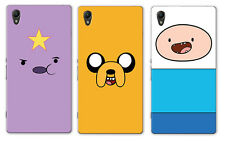 Adventure Time With Finn And Jake Character Sony Xperia Z3+ Plus Hard Case
