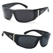 Locs OG Gangster Cholo Biker Wrap Around Mens Sunglasses Smoke Glasses LC87