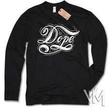 Long sleeve - DOPE - Obey Swag Funshirt Vintage Homies Retro Size S M L XL XXL