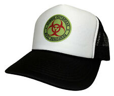 Funny Zombie Response Team Snap back Cap Funny Hat Trucker