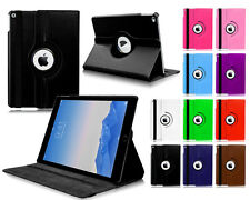 New 360° Rotate PU Premium Leather PU Stand Case Cover For Apple iPad Mini 4 UK
