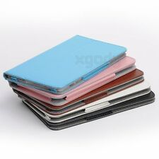 """Brand New Universal Leather Stand Folio Case Cover For 7"""" Android Tablet Phablet"""