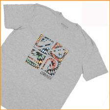 QUIKSILVER T-Shirt MENS*Size:S L* GREY Short Sleeve NEW Top Authentic-Brand Sale