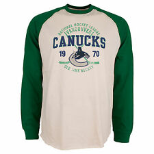 Vancouver Canucks Twigs Raglan Long Sleeve Jersey T-Shirt