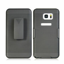 Rugged Hybrid Impact Hard Case Cover Clip Holster for Samsung Galaxy Note 5