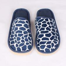 Winter Warm Adult House Indoor Slippers Anti-slip Soft Shoes Stone Print Sandal