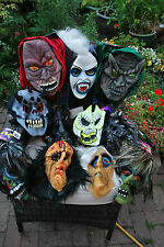 Halloween Masks from David Halsall - Goblins, Ghouls, Scary Women & Men