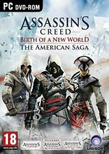 NEW Assassins Creed The American Saga Collection (PC DVD)