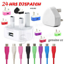 UK MICRO MAINS USB WALL PLUG CHARGER FOR Sony Xperia Z Z1 Z2 Z3 Compact ultra