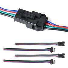 5/10PCS 15cm Male Female RGB Connector Wire Cable for 3528 5050 LED Strip Light